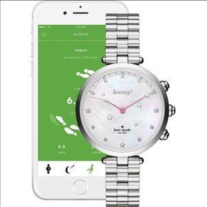 NEW Kate Spade New York hybrid bracelet watch